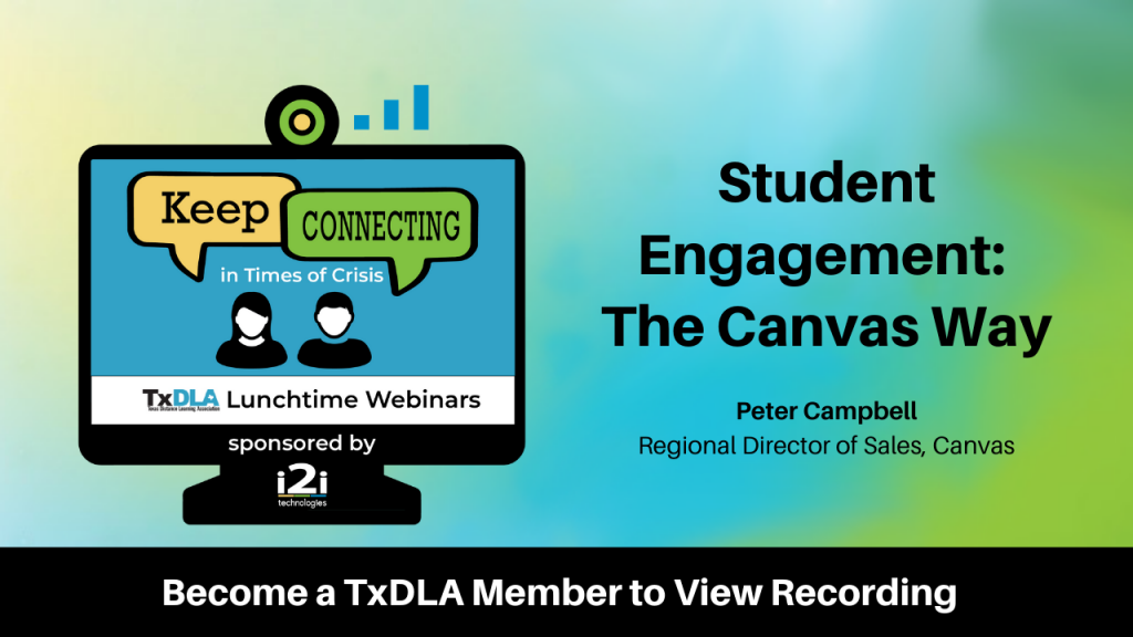 Student Engagement The Canvas Way