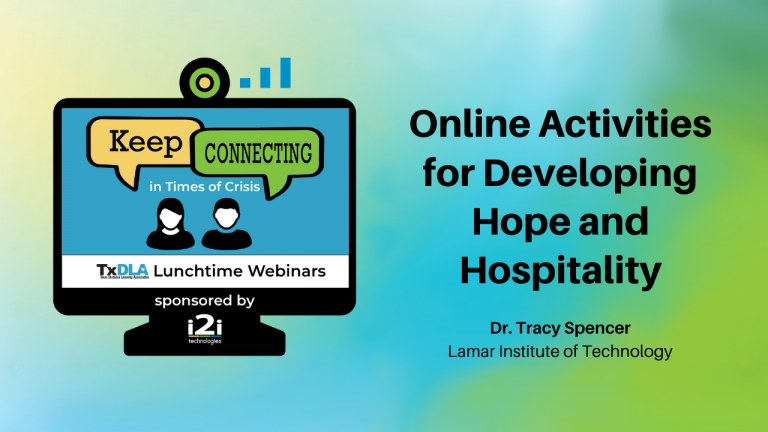 Online Activities for Developing Hope