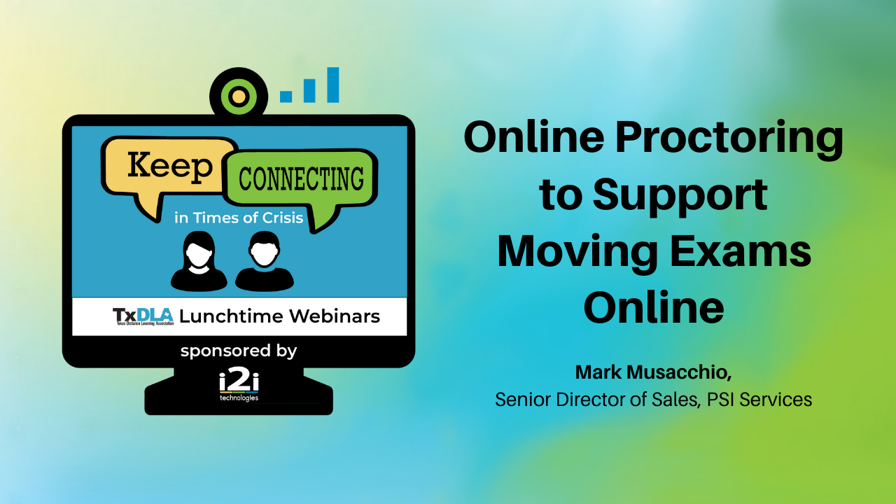 Online Proctoring to Support Moving Exams Online