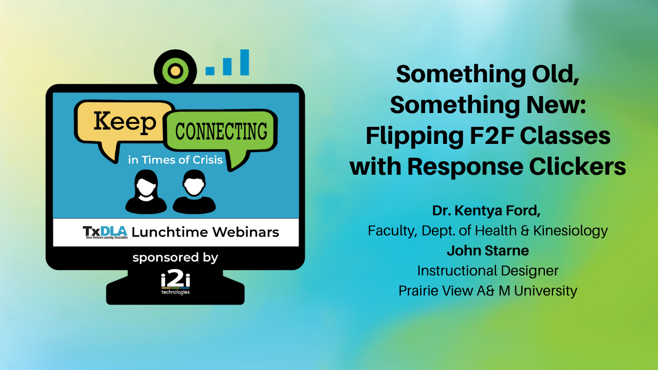 Flipping F2F Classes with Response Clickers